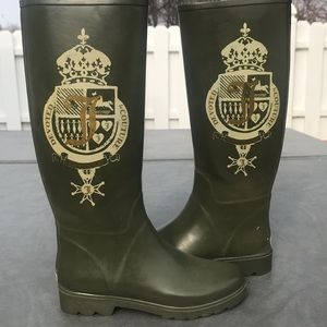 Juicy couture winter and rain boots